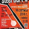 plakat - II augustowski turniej darta 14-06-2014r #dart #Augustów #lotki #turniej