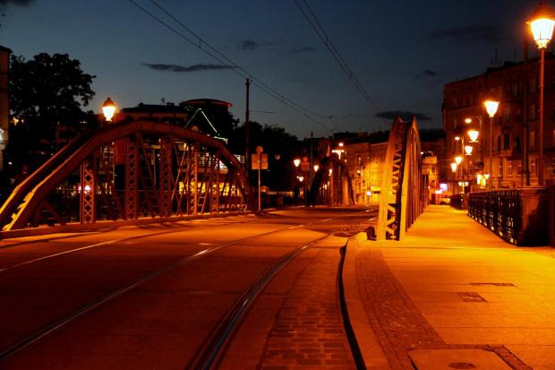 Mosty Młynskie nocą.. #MostMlynski #noc #OstrowTumski #swiatla #wroclaw