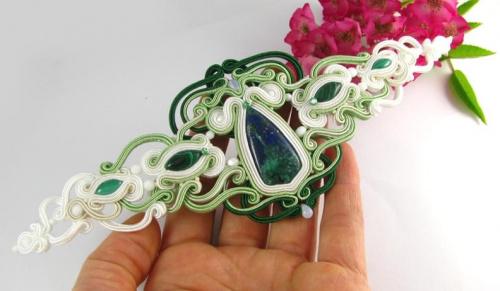Ślubny pas biżuteryjny