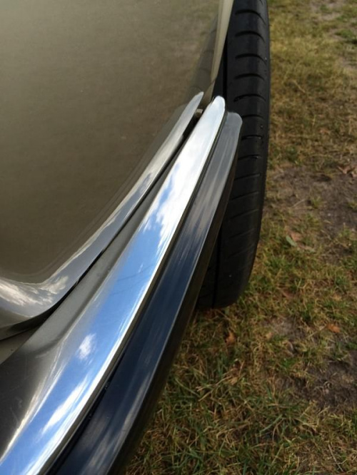BMW 525E zderzak przedni chrom #BMW525e #BMWE28 #ETA