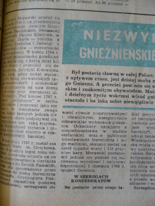 Niezwykłe życie Gnieźnieńskiego partyzanta Przemiany 1978/79 Autor Zbigniew Franciszek Chodyła #Gniezno