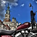 Yamaha przed Ratuszem. #Motocykl #Yamaha #Virago #StaryRynek #Poznań