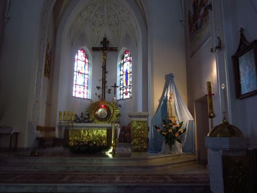 Kościół Rymanów Zdrój #kaplica #kościół #ołtarz #figura