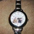 Zafrecony zegarek :) - wylicytujesz? Pomożesz Pimpusiowi :) #aukcja #fretkak #Pimpuś #SPF #zegarek