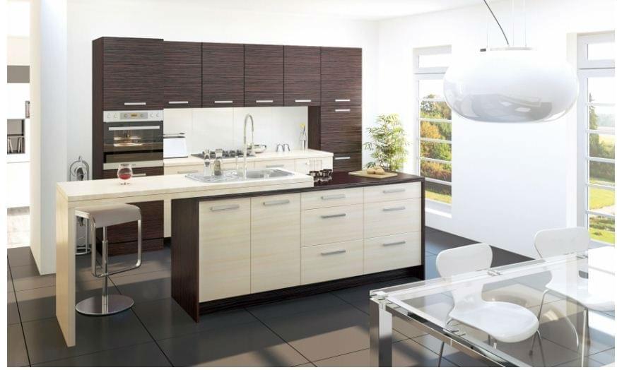 einbauk che k chenblock k che k chenzeile isabell mit insel erweiterbar ebay. Black Bedroom Furniture Sets. Home Design Ideas