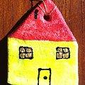 #BożeNarodzenie #choinka #domek #magnesik #magnesy #MasaSolna #ozdoby #prezenty #RęcznieMalowane #rękodzieło #upominek