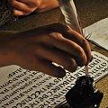 pisanie piórem gęsim #pióro