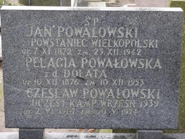 Powstańcy Cmentarz św. Piotra i Pawła Gniezno ul. Kłeckowska