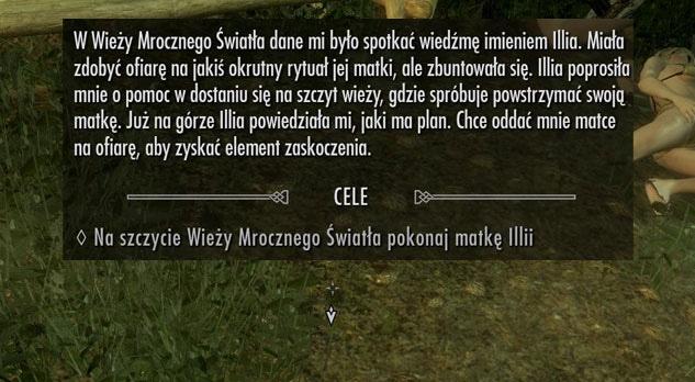 Zaginęła mi Illia  - Skyrim - Zadania - Skyrim pl - Forum
