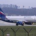 Sukhoi Superjet 100 -95 Aeroflot #lotnictwo #samoloty #pentax #spotting #EpktSpotters
