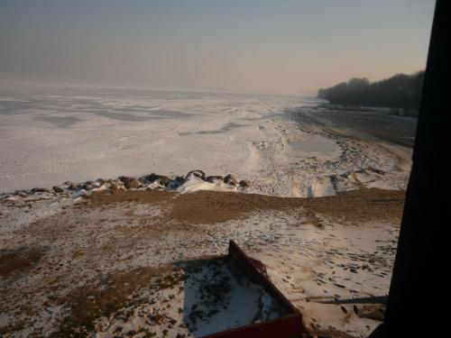 Plaża zimą :)