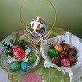 #pisanki #Wielkanoc #drapanki #koszyczek #dekoracja