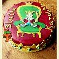 Tort z koroną - król maciuś pierwszy #DlaChlopca #korona #król #KrólMaciuśPierwszy #tort #TortUrodzinowy #TortyKraków #TortyWalentynki